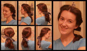 How To: Belle's Day Hair 2