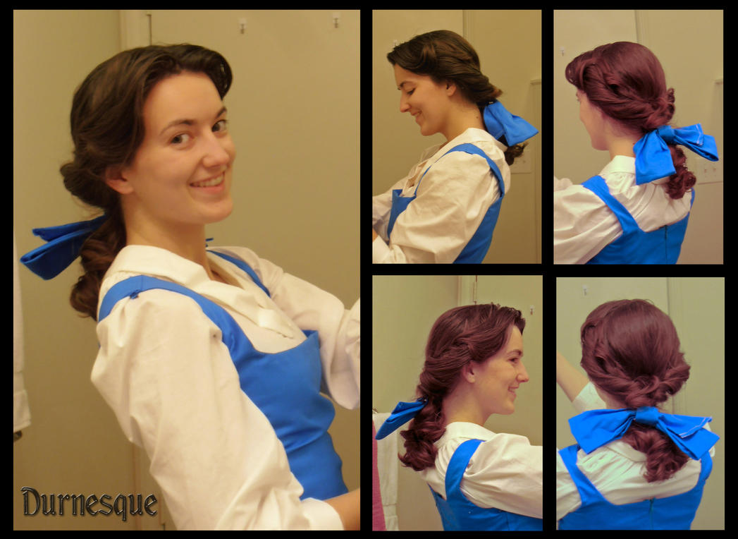 How To Belles Town Hair By Durnesque On DeviantArt