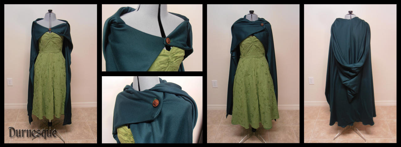 LOTR Inspired Cloak by Durnesque