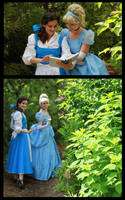 Princesses in the Garden by Durnesque