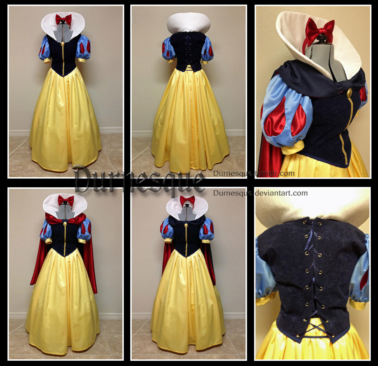 Snow White with Reversible Cape by Durnesque