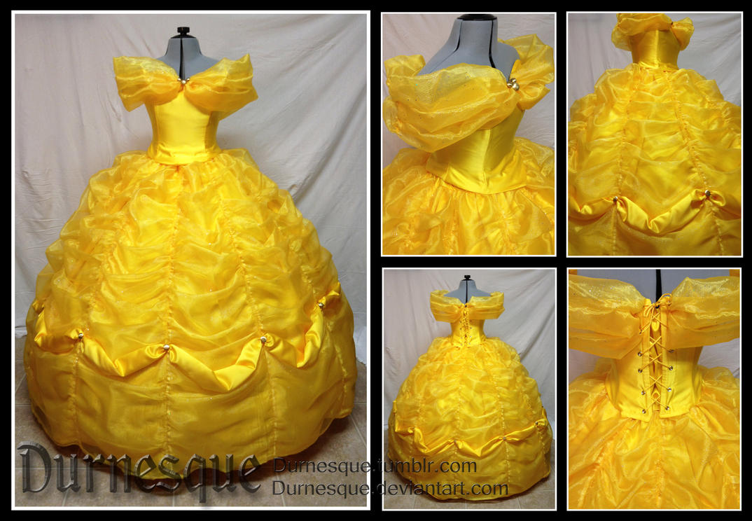 Belle\'s Ballgown by Durnesque on DeviantArt