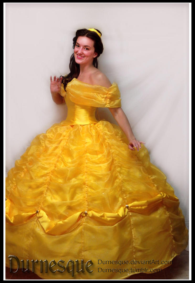 Belle S Diary Bohemian Style: Tale As Old As Time: Belle's Ballgown By Durnesque On