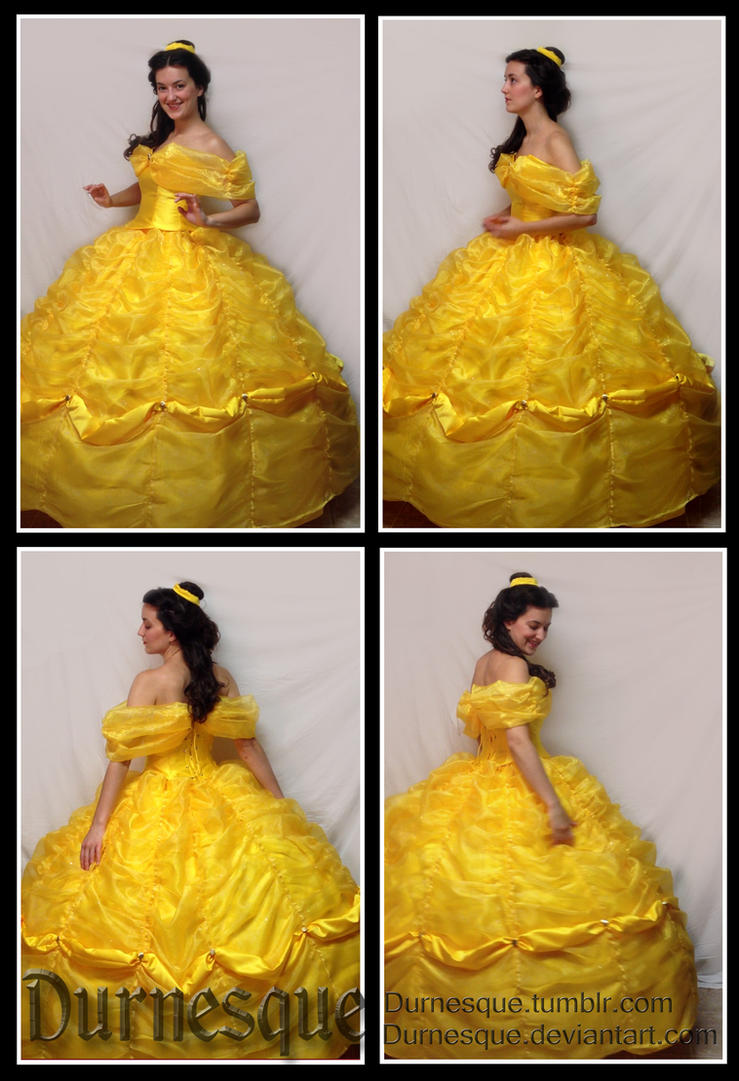 Belle\'s Ball Gown (4 views) by Durnesque on DeviantArt