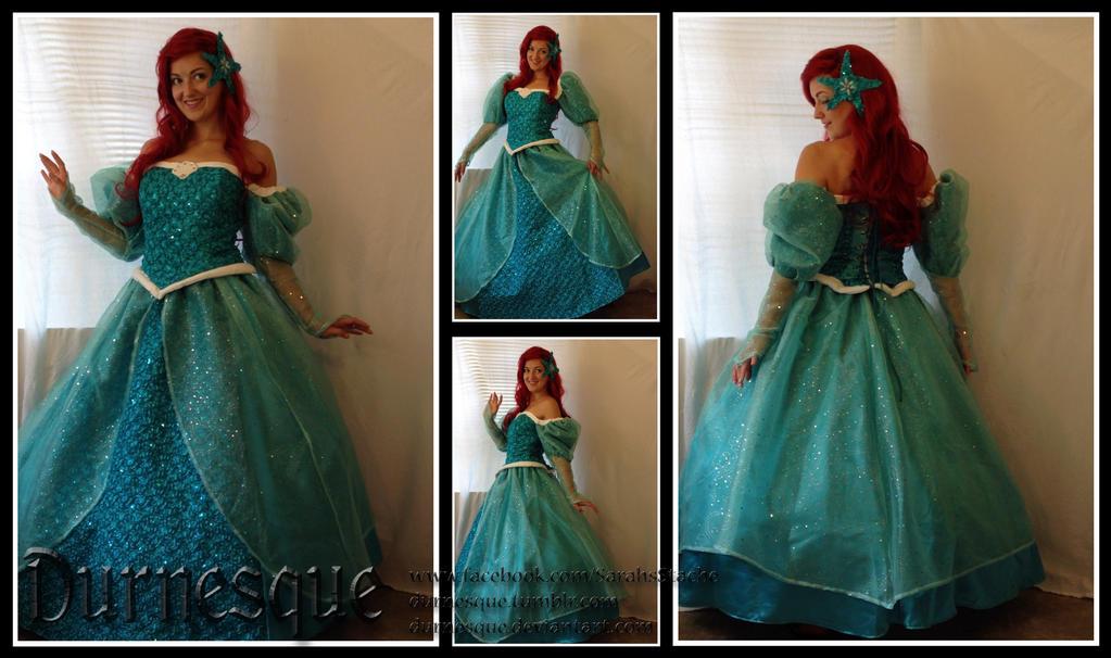 Little Mermaid Ballgown by Durnesque on DeviantArt