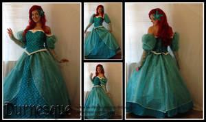 Little Mermaid Ballgown
