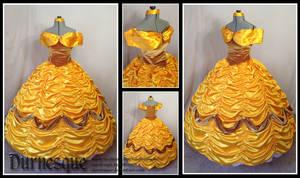 Gold Velvet Belle