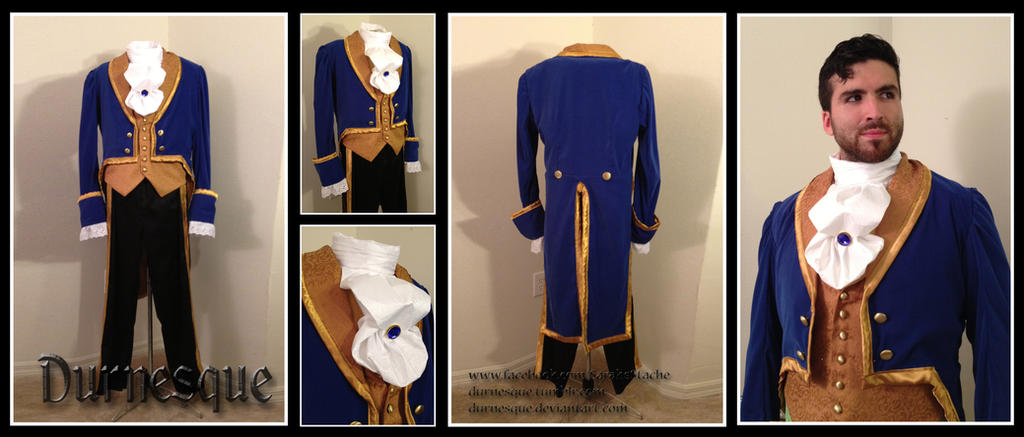 Prince Adam/Beast Costume by Durnesque