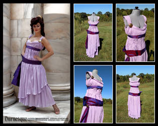 Megara Dress and Cosplay