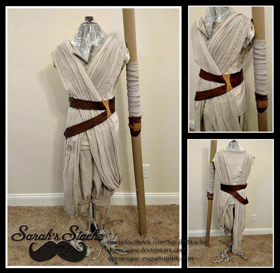 Rey Costume - Star Wars by Durnesque