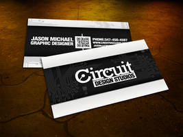 Circuit Business Card by Cre8tiveCloud