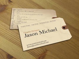 Vintage Business Card by Cre8tiveCloud