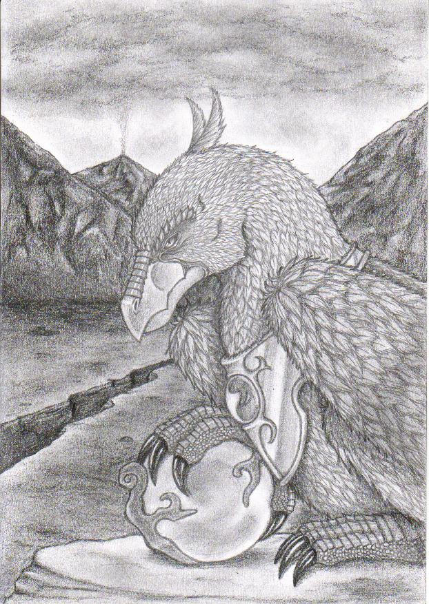 Gryphus by MHAlia