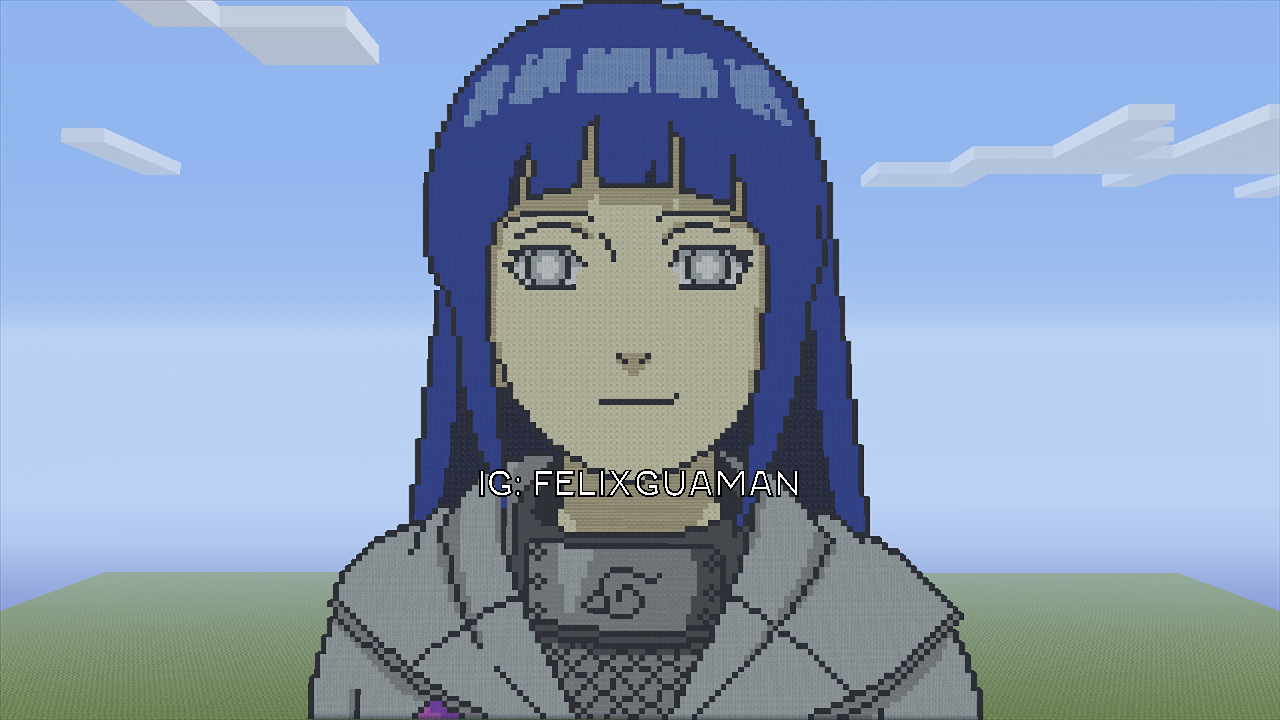 Anime Pixel Art Minecraft Gallery Of Arts And Crafts