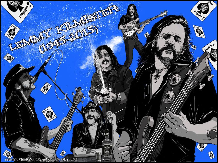 Lemmy Kilmister R I P [Fanart] by XenonicWhirlwind on DeviantArt