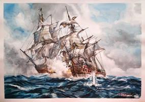 Sea Battle by lukuluku666
