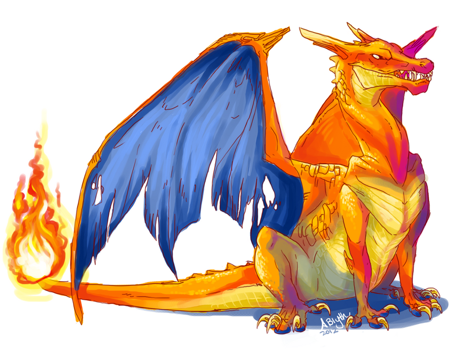Charizard Doodle by AriiKnave