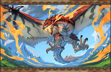 [FA] Lord of the Skies by Arukanoda
