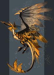 168 Empress Scarab by Arukanoda