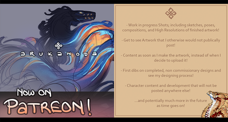 Now on Patreon! by Arukanoda