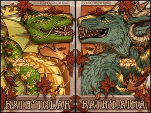 [G] Rath'Tolar and Rath'Laika Badge
