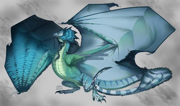 [A3] Blue Iguana