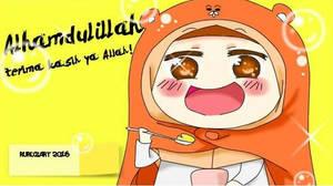 Himoutoumaru-chan in hijab