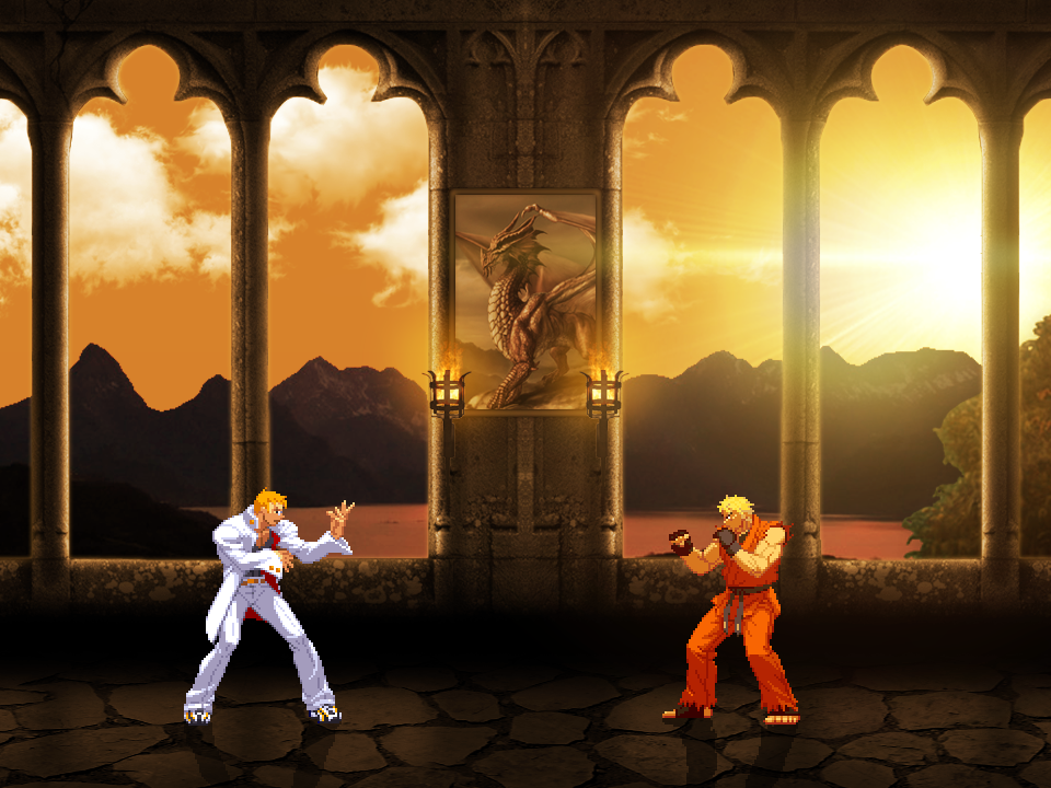Mugen Screenshots V2 - Page 2 Castle_screenshot11_by_excahm-d7thchw