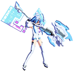 Sprite: White Heart Fighting Stance