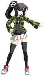 Sprite Commission: Tina [OC] by excahm
