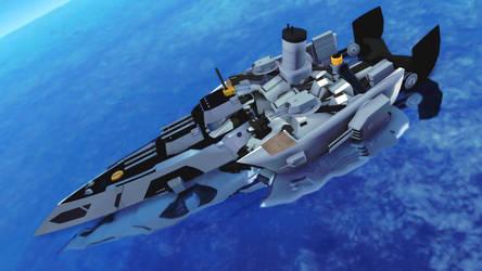 CM3D2: [OC] Battleship Sentamaare 01