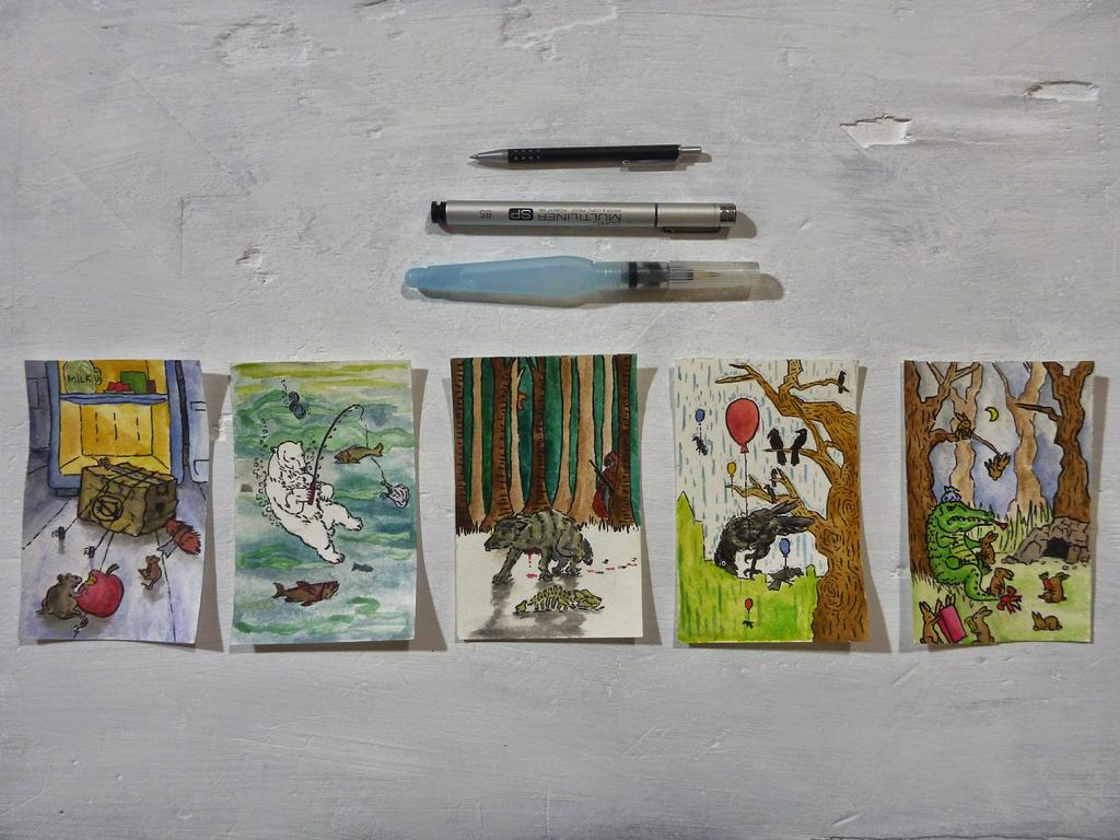 Animals by ippiki-wolf