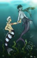 DP: Under da Sea Danny and GW by The-Clockwork-Crow