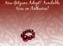 Animated Gitzune Adopt spoiler by The-Clockwork-Crow