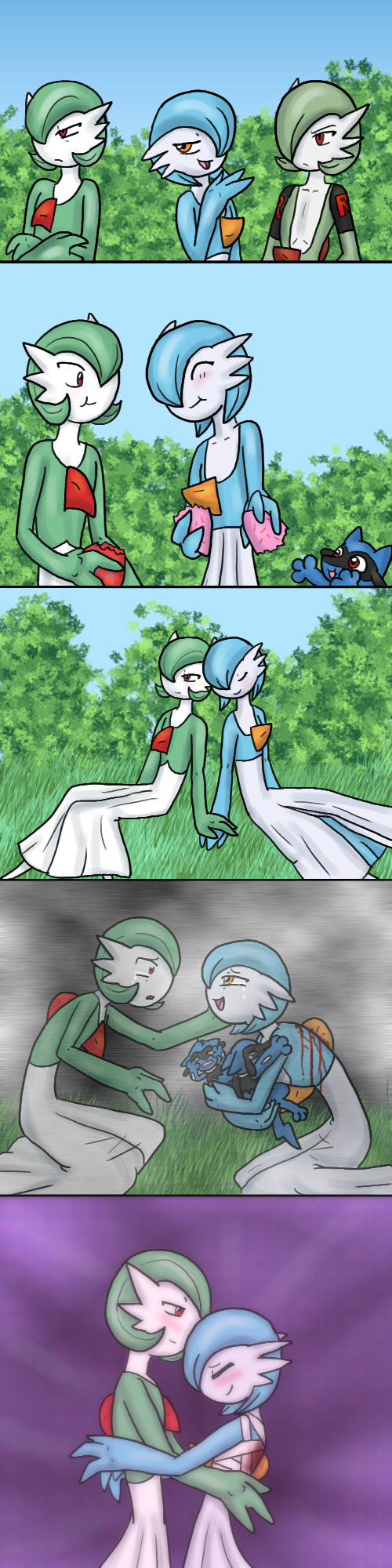 Progression of happiness by The-Clockwork-Crow