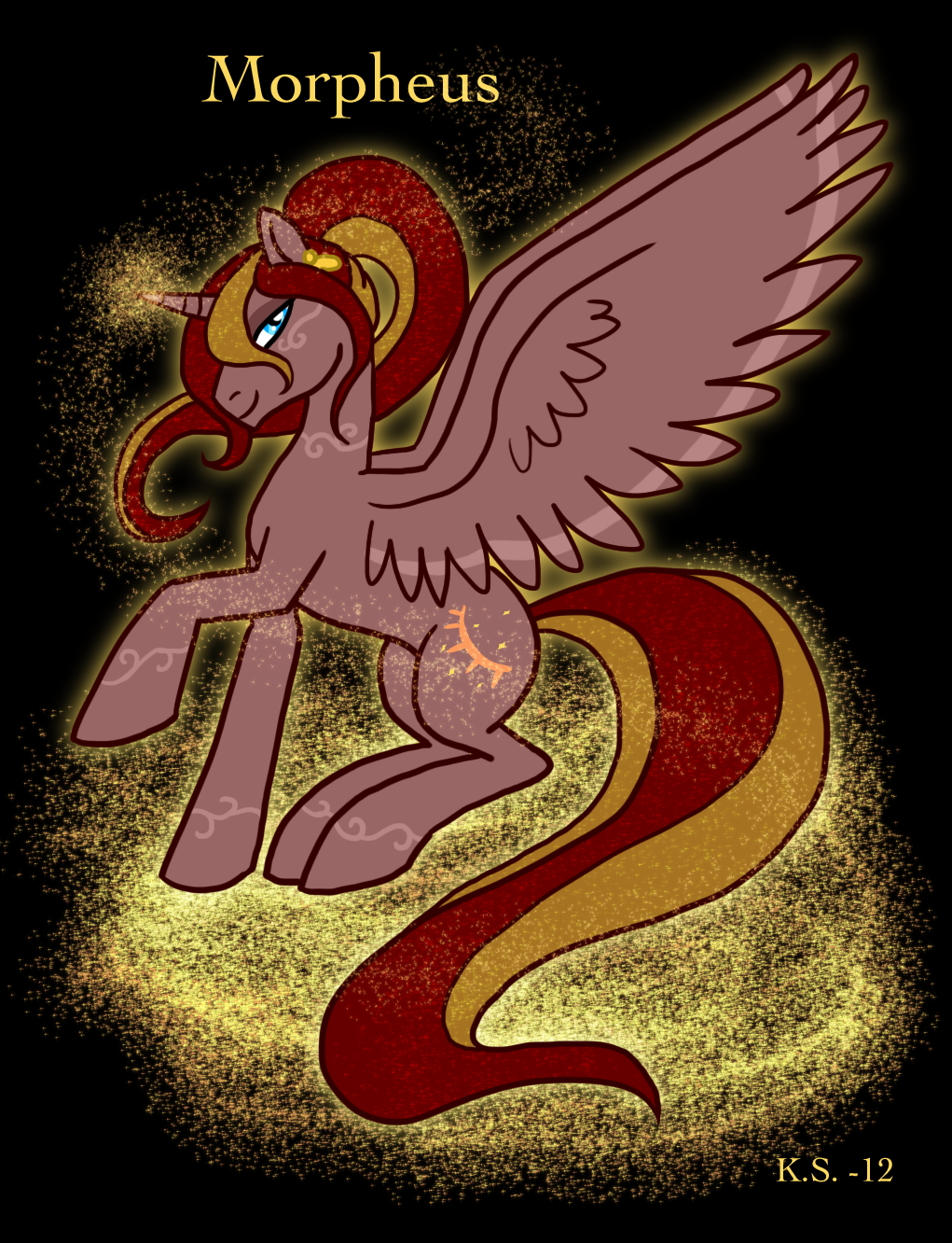 Morpheus, the Pony King of Dreams by The-Clockwork-Crow