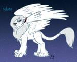 Lion King Ndoto the white winged lion