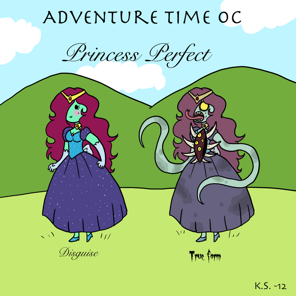 Adventure Time OC Princess Perfect by The-Clockwork-Crow ...