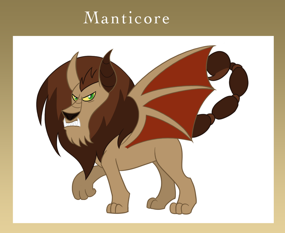 Eponia Manticore by The-Clockwork-Crow on DeviantArt