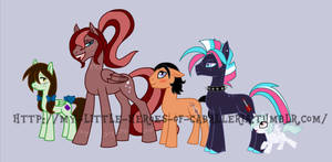 The Heroes of Caballeria: Mystery Ponies by The-Clockwork-Crow