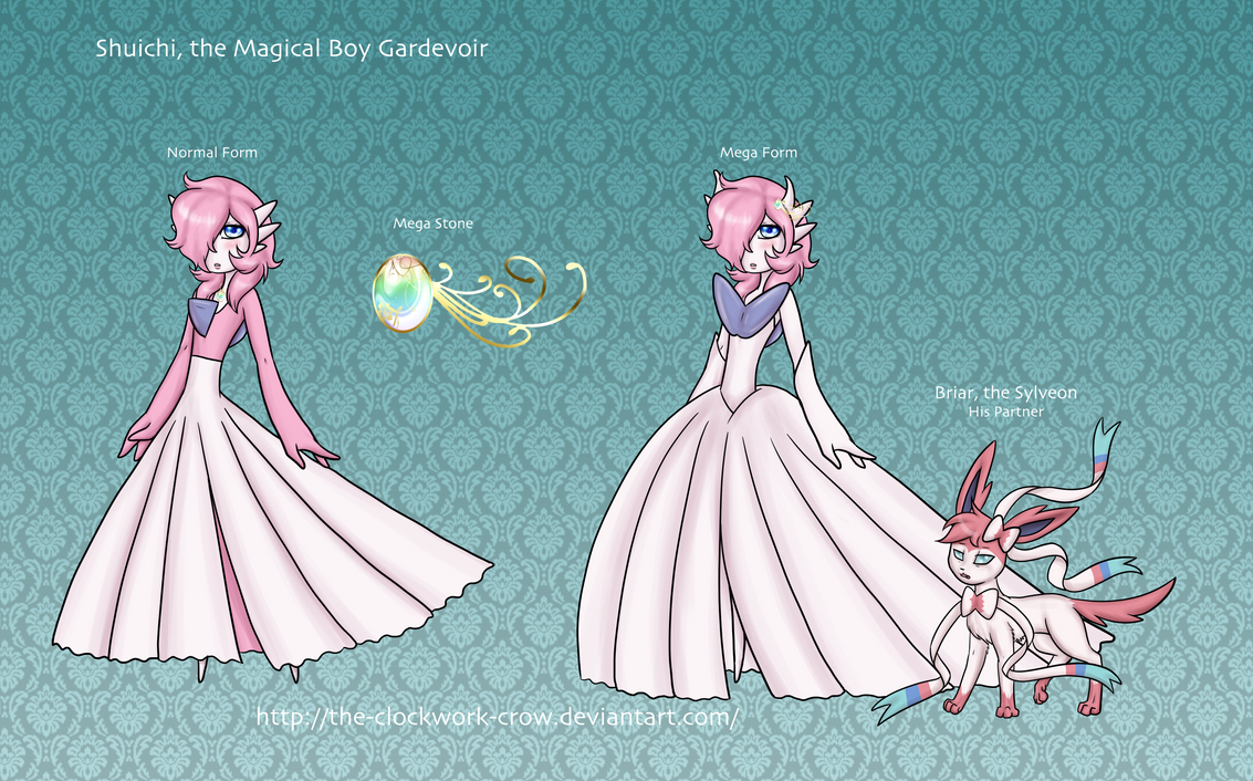 Shuichi the Gardevoir and Briar the Sylveon by The-Clockwork-Crow ...