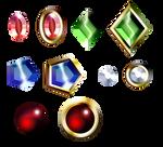 Gemstones Stock