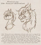 Research notes -Elder Roanwolves