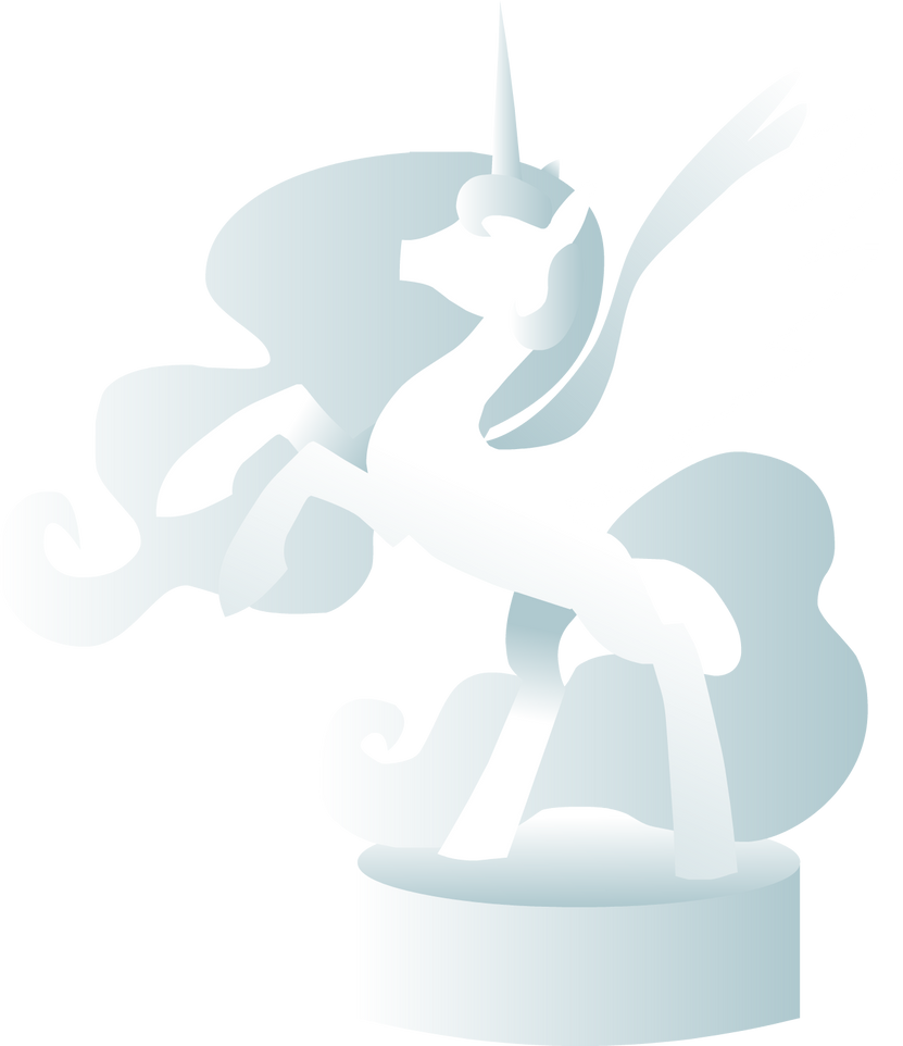 Celestia Musicbox/Crystal Statue by The-Clockwork-Crow