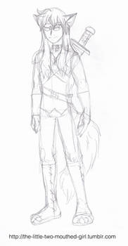 Fantasy/RPG Murdoc Sketch