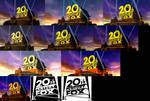 20th Century Fox logo 1994 Blender Models v2