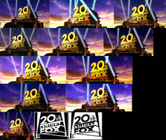 20th Century Fox logo 1994 V3 Models