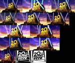 20th Century Fox logo 1994 V3 Models