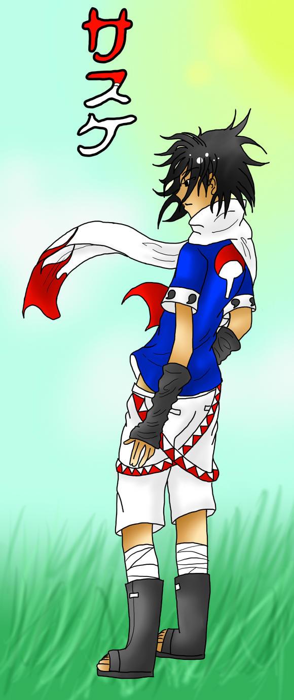 Sasuke's new outfit by XxSasuNaruUchihaxX on deviantART