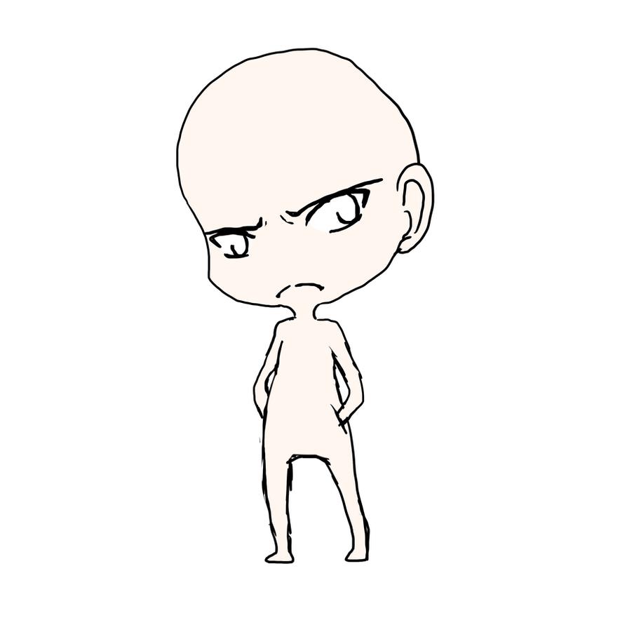 Chibi Body Base Boy